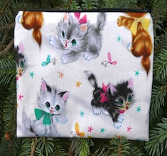 Retro Kitties zippered bag, The Scooter
