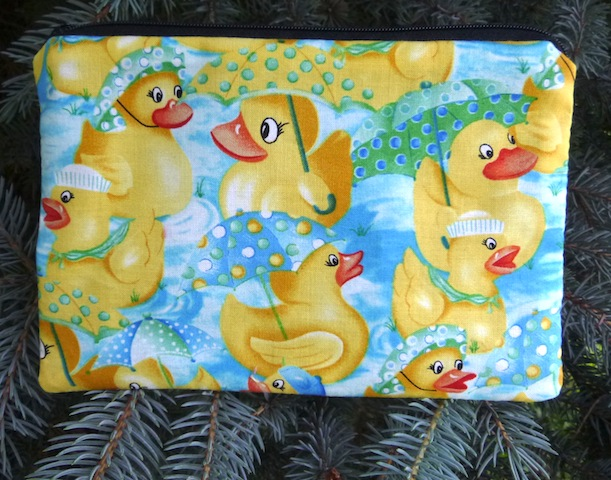 Rubber Ducks zippered bag, The Scooter