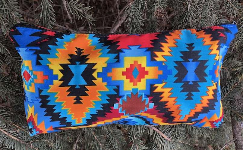 Southwestern Large Zini Flat Bottom Bag