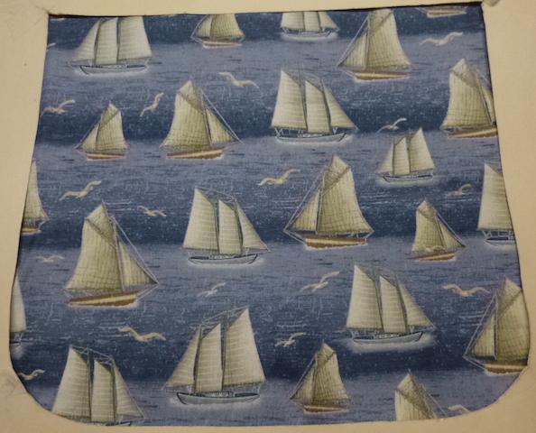 Sailing Pick your Size Morphin Messenger Bag Flap