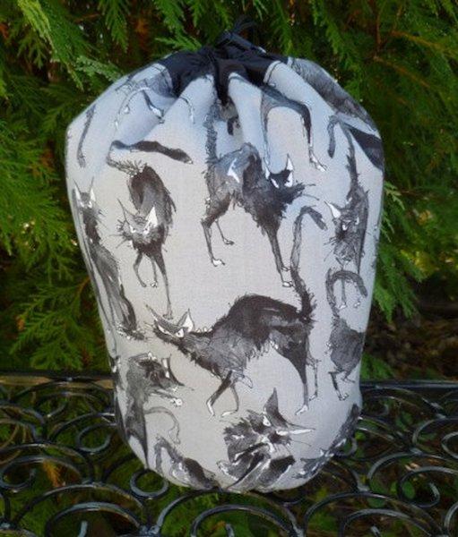 Sebastian Ghastlie SueBee Round Drawstring Bag
