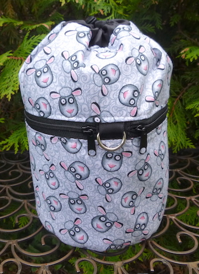 Sheep Tangle Kipster Knitting Project Bag