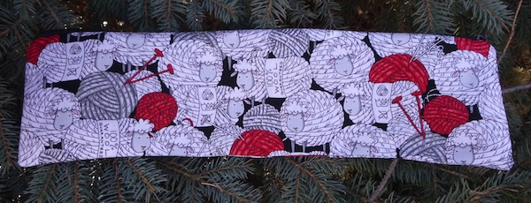 Skeins of Sheep Long Knitting Needle Pouch, The Stitch