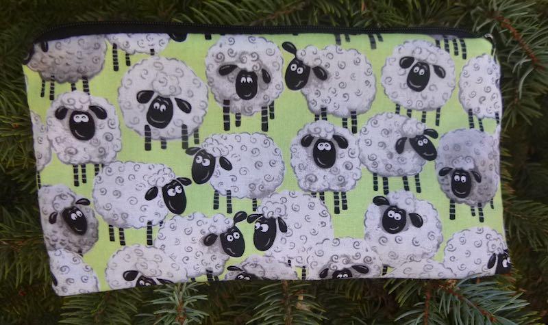 Smiley Sheep Deep Scribe pen and pencil case