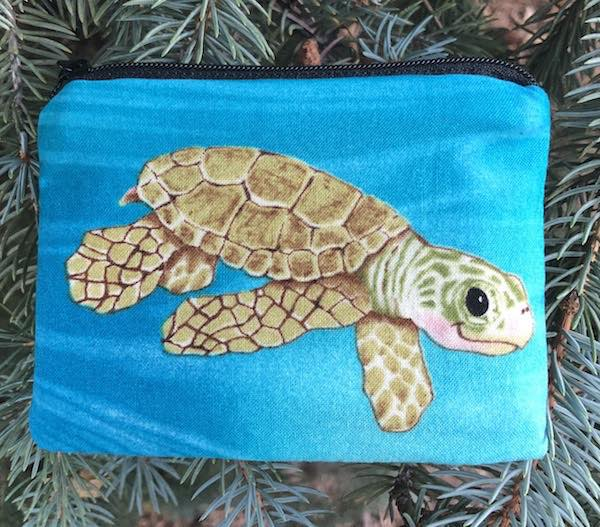 Smiling Turtles Coin Purse, The Raven