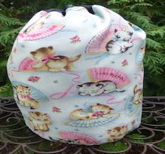 Smitten Kitten SueBee Round Drawstring Bag