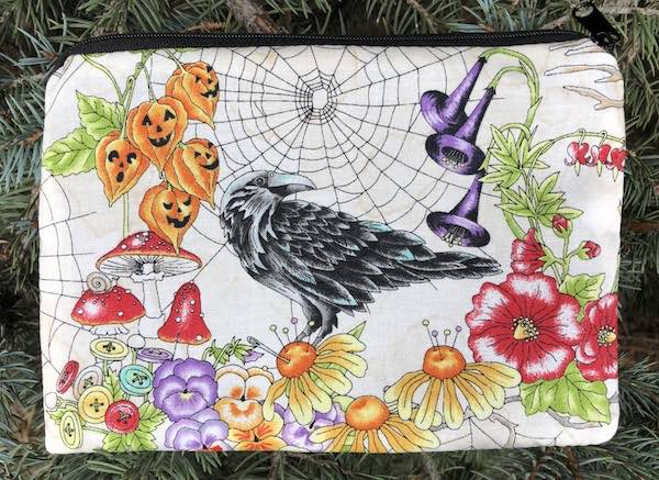 Spellcasters Garden zippered bag, The Scooter