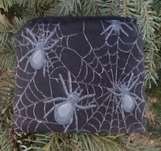 Spiders and Webs Coin Purse, The Raven