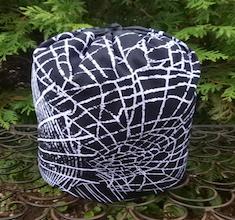 Spiderweb SueBee Round Drawstring Bag