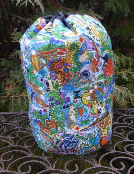 Spirit Animals SueBee Round Drawstring Bag