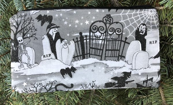 Spooky Night Deep Scribe pen and pencil case