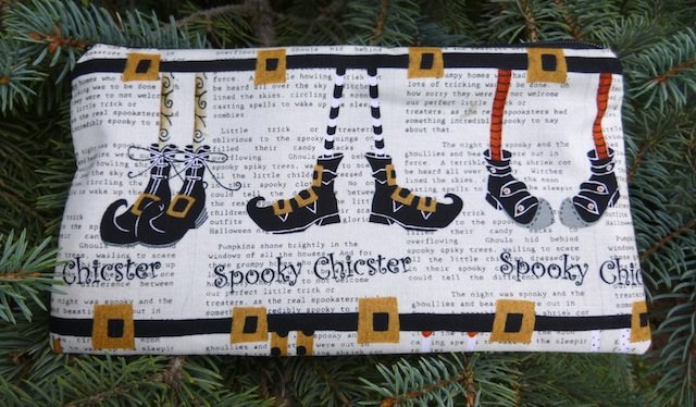 Spooky Chicster Deep Scribe pen and pencil case