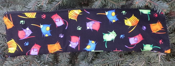 Jumpy Cats Long Knitting Needle Pouch, The Stitch