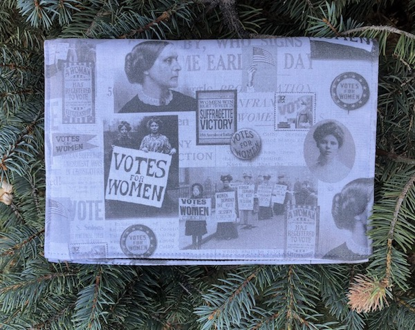 Suffragette Victory  Wallet on a String - celebrating 100 year anniversary of the 19th Amendment, women's voting rights