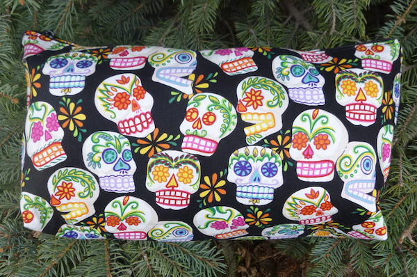 Sugar Skulls Large Zini Flat Bottom Bag