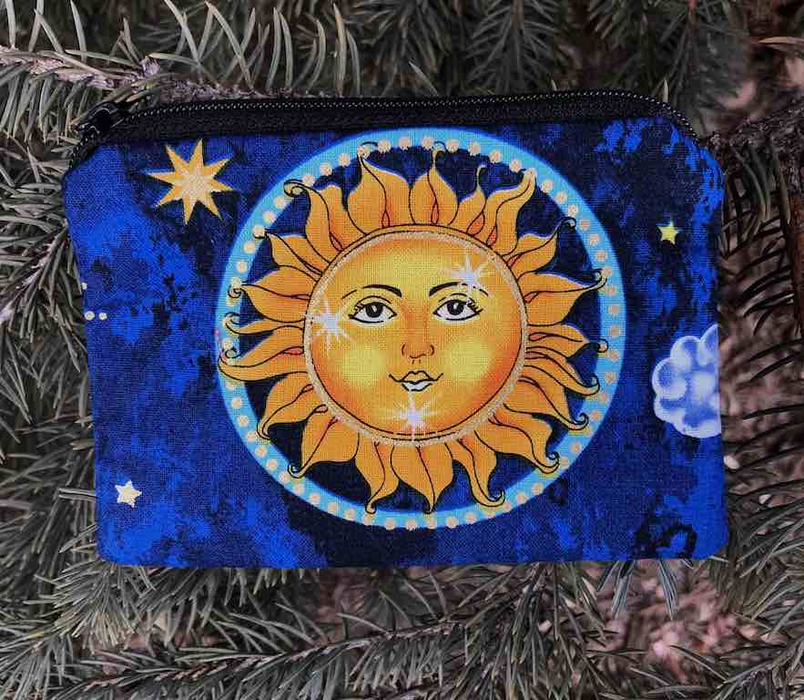 Suns Coin Purse, The Raven