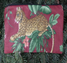 """Tigers pouch for 8"""" Knitting Needles, The Deep Sleek"""