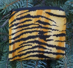 Tiger Stripes Coin Purse, The Raven