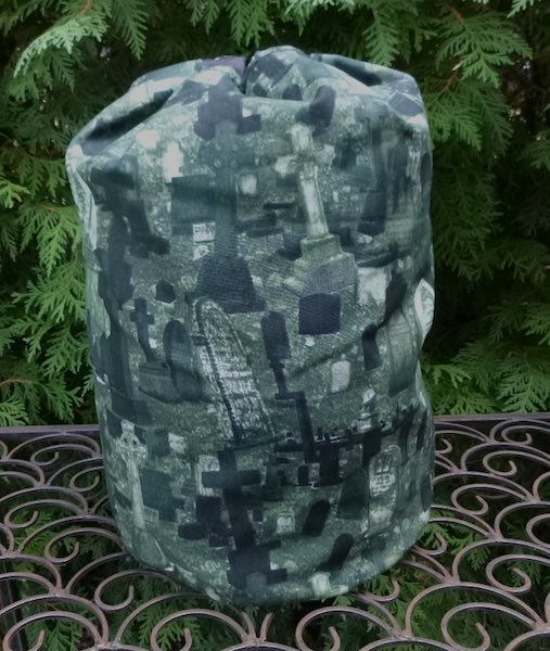 Tombstones drawstring bag, The Large Suebee