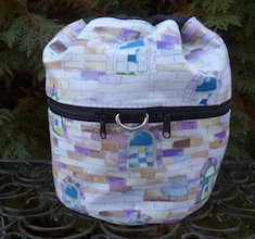 Castle turret Kipster Knitting Project Bag