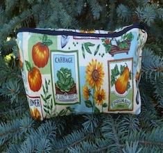 Seed packets flat bottom bag, The Zini
