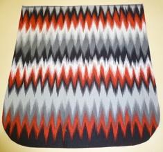Vibration stripe Pick your Size Morphin Messenger Bag Flap