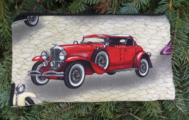 Classic Cars Deep Scribe pen and pencil case