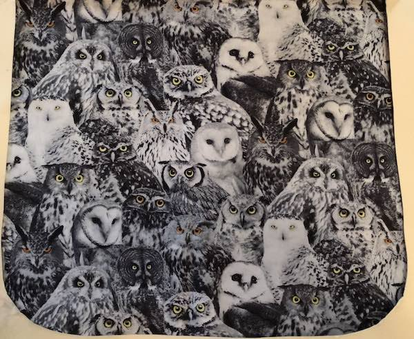Watching Owls Pick your Size Morphin Messenger Bag Flap