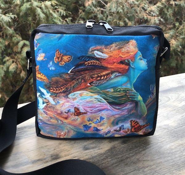 Wings of Joy Hipster Shoulder Bag, The Otter