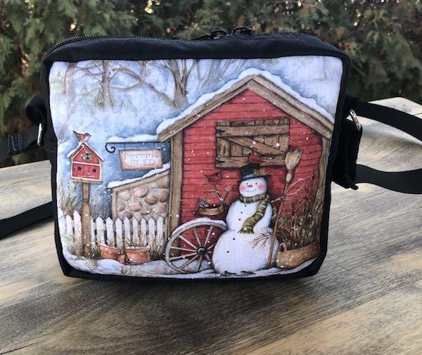 Winter Potting Shed Hipster Shoulder Bag, The Otter