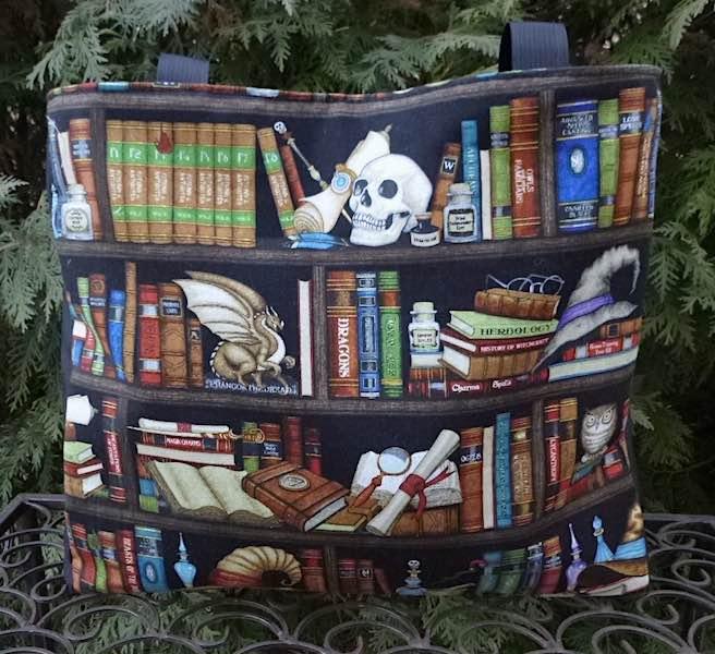 Witches Bookshelf Medium Fleur Tote, wide
