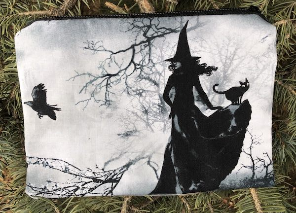 Witches Gathering zippered bag, The Scooter