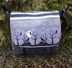 Wolf Moon Falcon Mini Messenger Bag